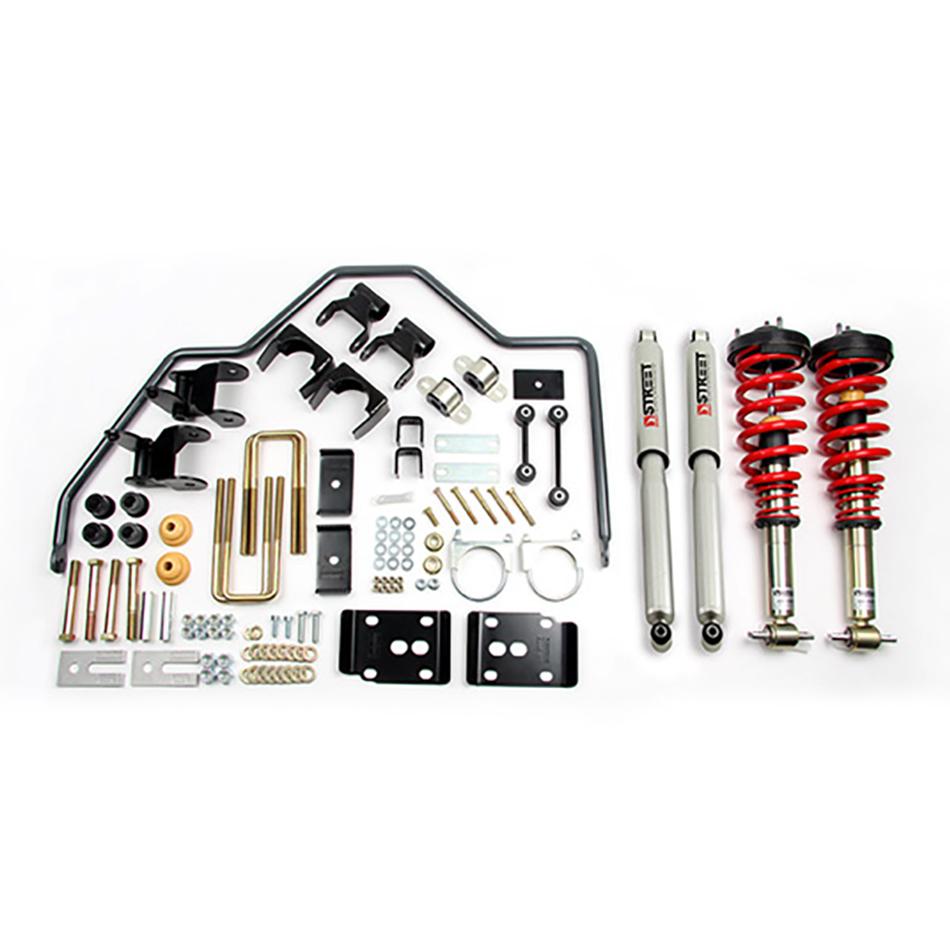 Bell Tech 1001HK Suspension Handling Kit, Performance Handling, Brackets / Bushings / Coil-Over System / Shocks / Sway Bar, Ford Fullsize Truck 2015-17, Kit