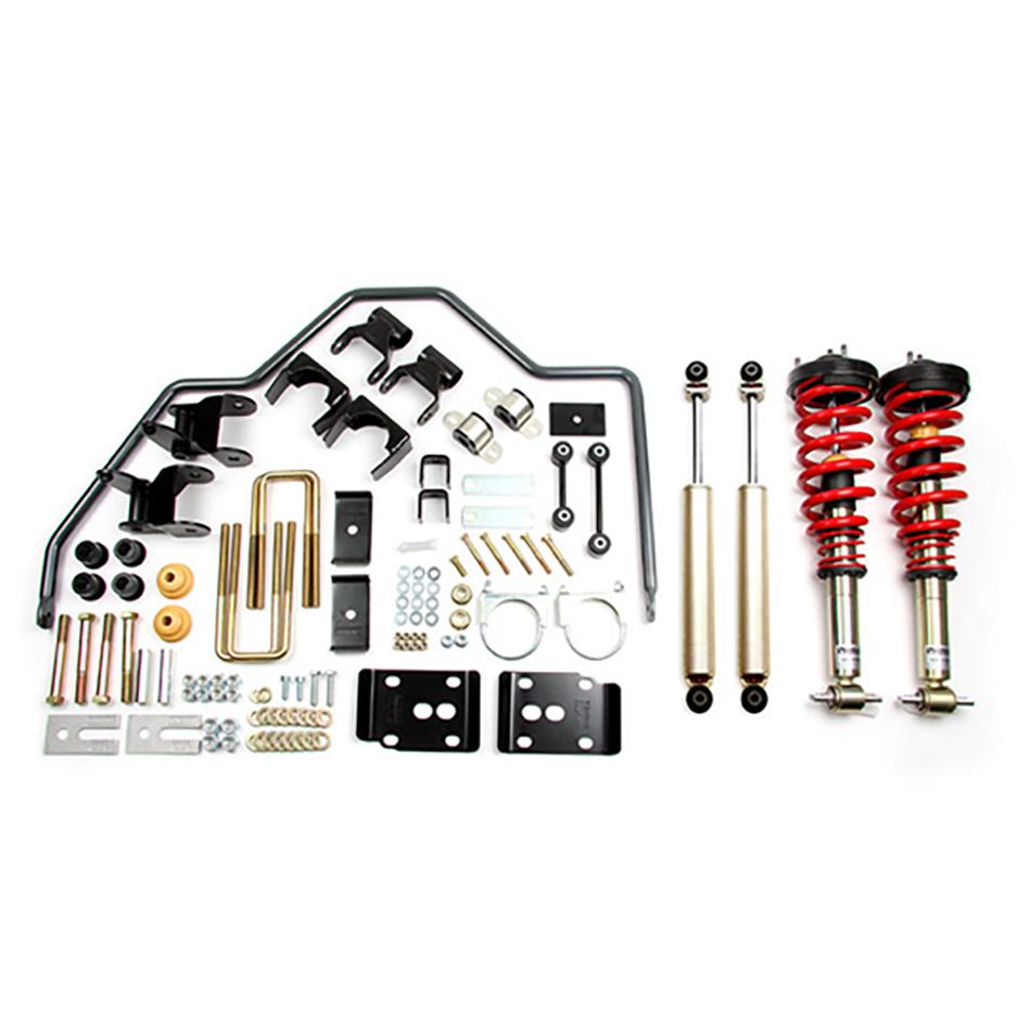 Bell Tech 1001HKP Suspension Handling Kit, Performance Handling Kit Plus, Brackets / Bushings / Coil-Over System / Shocks / Sway Bar, Ford Fullsize Truck 2015-17, Kit
