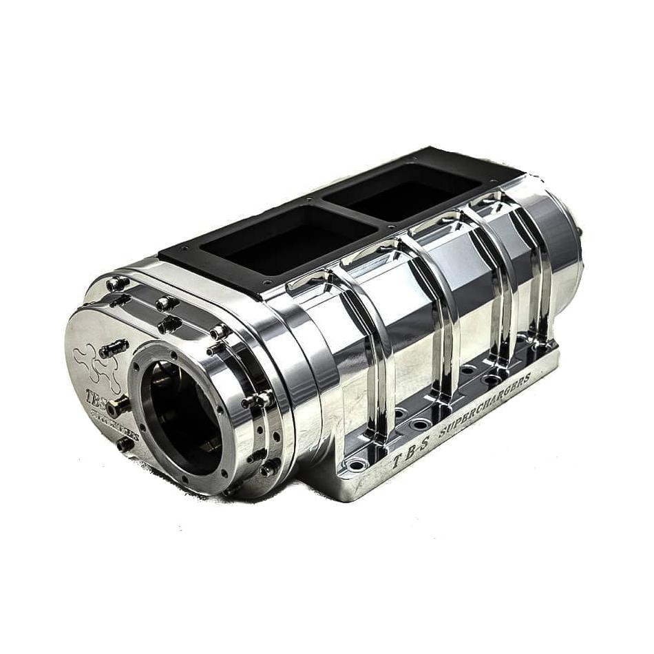 8-71 TBS Billet Case w/ High-Helix Billet Rotors