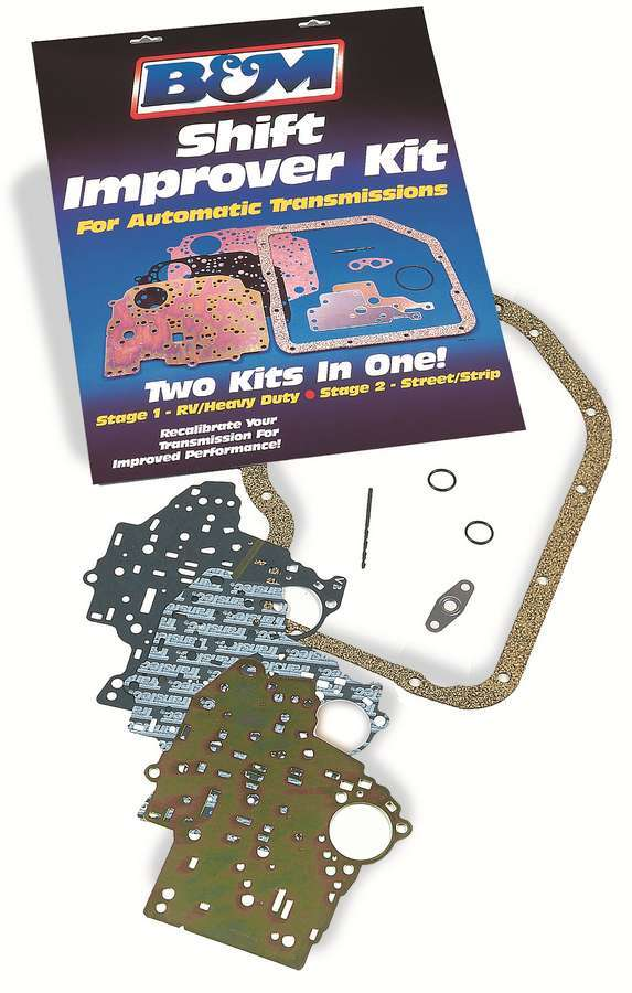 B & M Automotive 10225 Automatic Transmission Shift Kit, Shift Improver, Torqueflite 727 / 904 1971-77, Kit