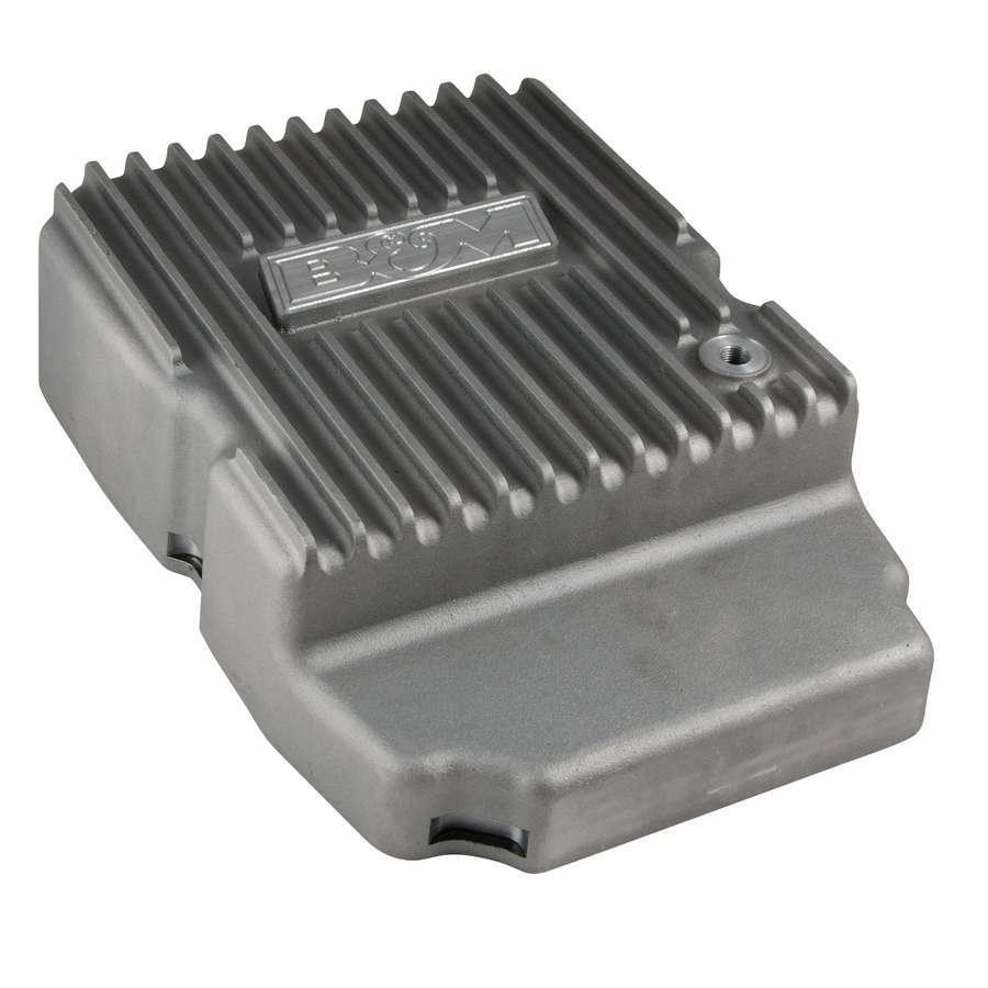B & M Automotive 10300 Transmission Pan, Deep Sump, Adds 3.0 qt Capacity, Aluminum, Natural, NAG-1, Each