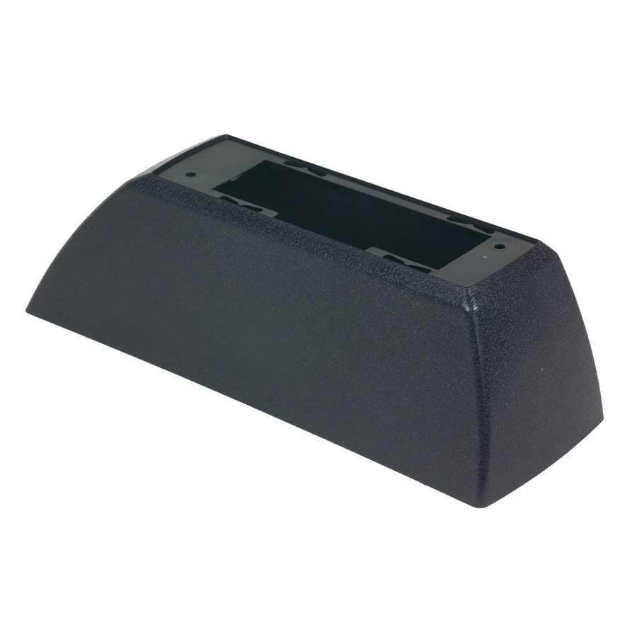 B & M Automotive 80646 Shifter Cover, Bottom Half, Plastic, Black, B&M Z-Gate Shifters, Each