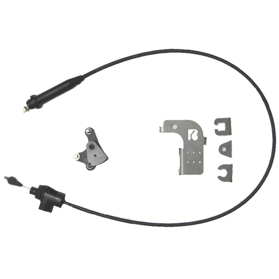 Bowler Performance Transmissions BPT-TS-E Kickdown Cable, Self Adjusting, Holley Carburetor, 200R4 / 700R4, Kit