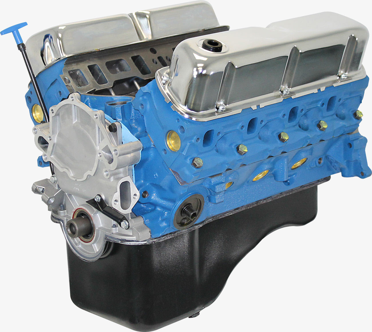 Blueprint Engines BP3024CT Crate Engine, Base Engine, 302 Cubic Inch, 300 HP, Small Block Ford, Each