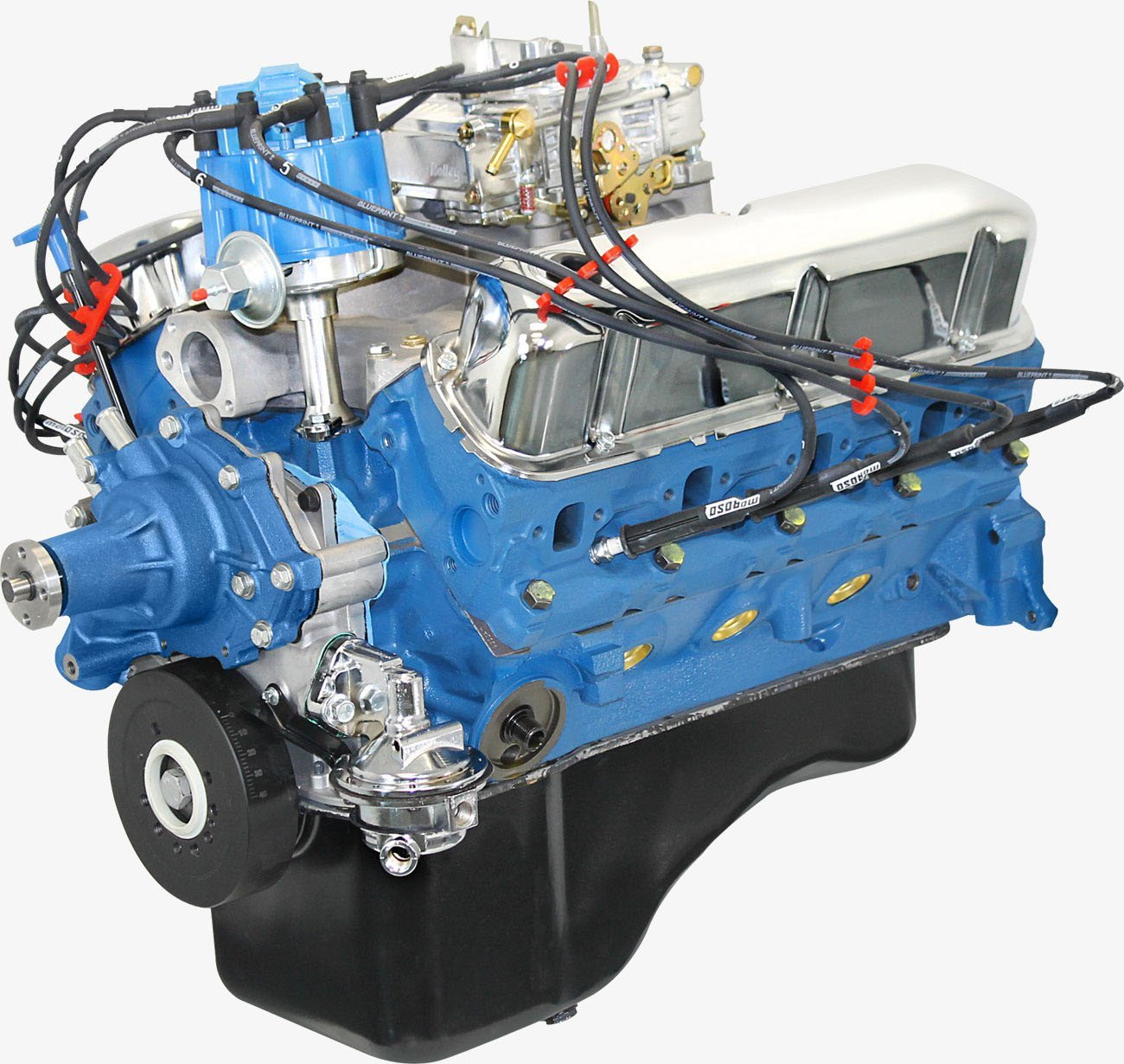 Blueprint Engines BP3024CTC Crate Engine, Fully Dressed, 302 Cubic Inch, 300 HP, Small Block Ford, Each