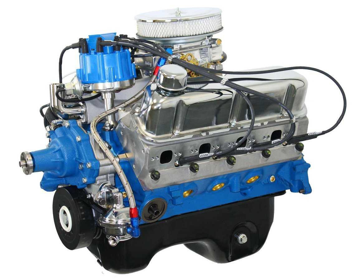 Blueprint Engines BP3060CTCD Crate Engine, Drop-in-Ready, 306 Cubic Inch, 370 HP, Small Block Ford, Each