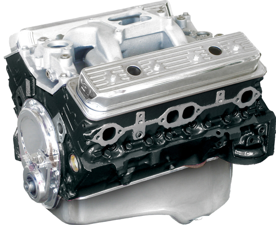 Blueprint Engines BP3550CT1 Crate Engine, Base Engine, 355 Cubic Inch, 385 HP, Small Block Chevy, Each