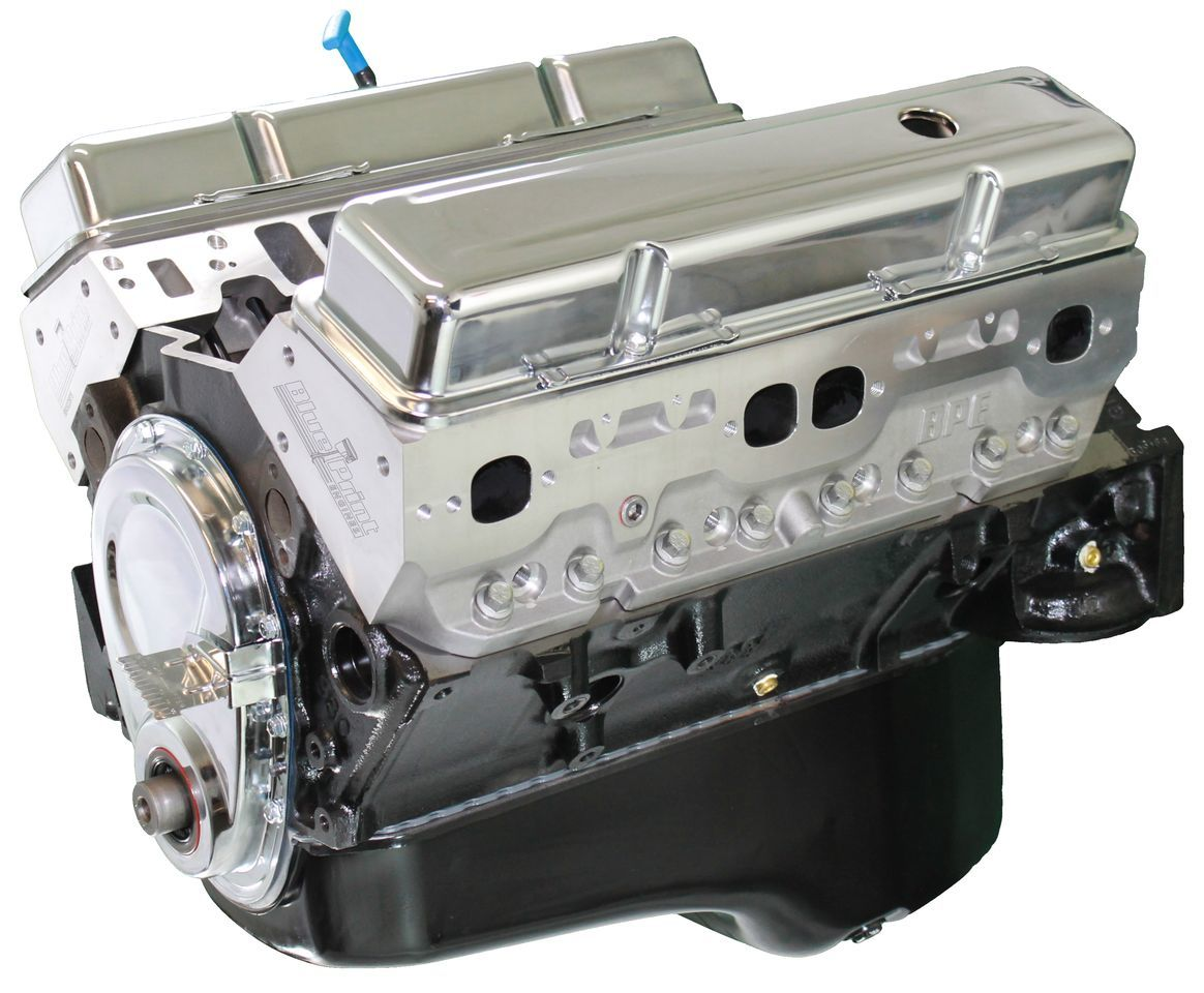 Blueprint Engines BP35512CT1 Crate Engine, Base Engine, 355 Cubic Inch, 375 HP, Small Block Chevy, Each