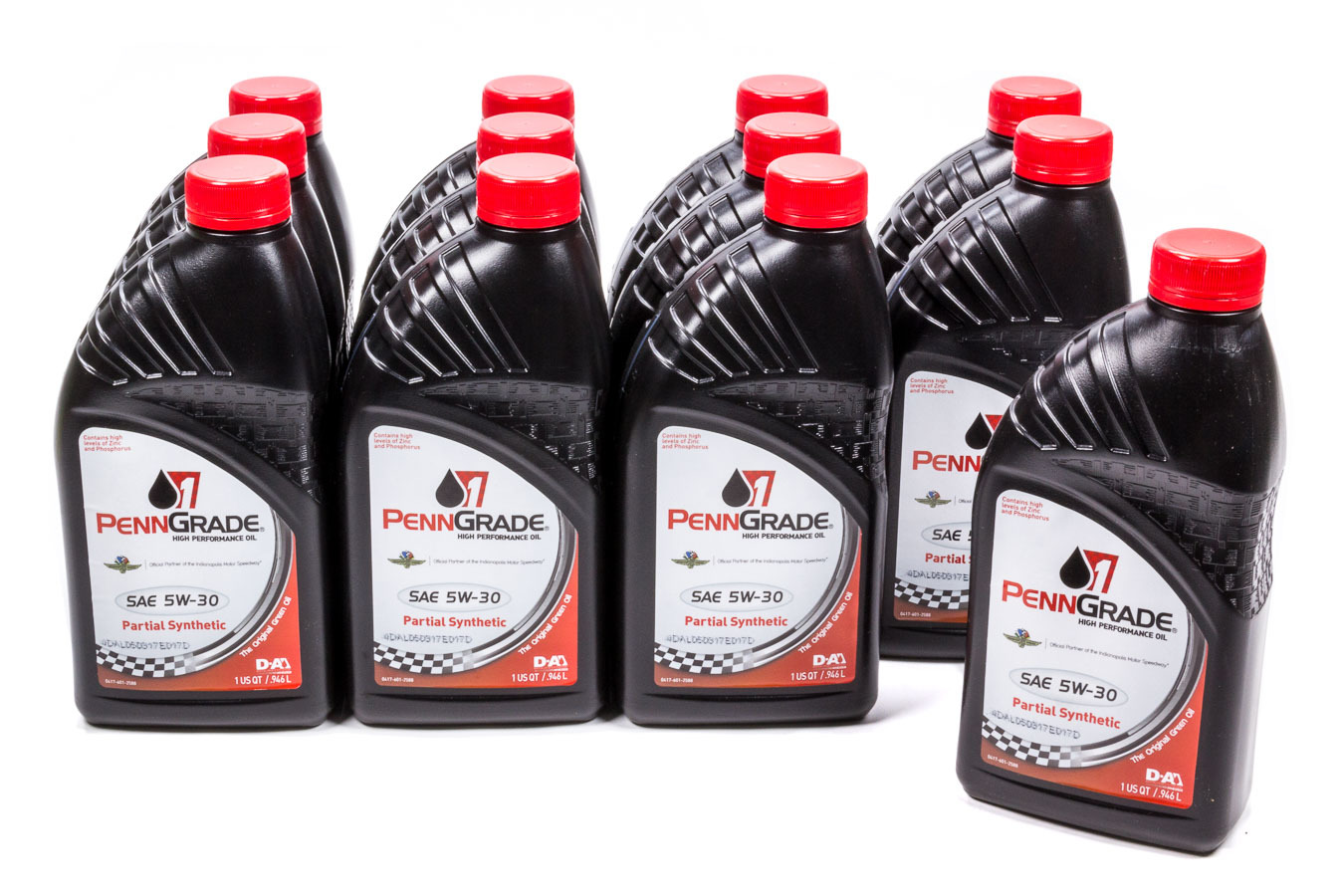 5w30 Racing Oil Cs/12-Qt Partial Synthetic