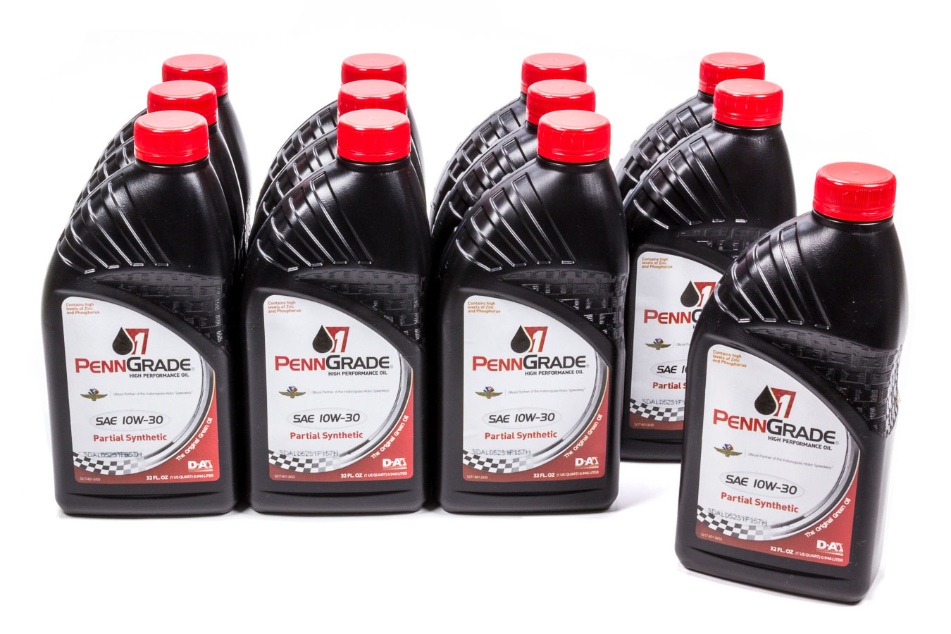 10w30 Racing Oil Cs/12Qt Partial Synthetic