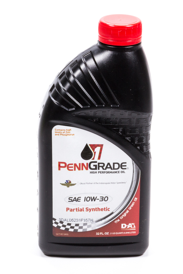 10w30 Racing Oil 1 Qt Partial Synthetic