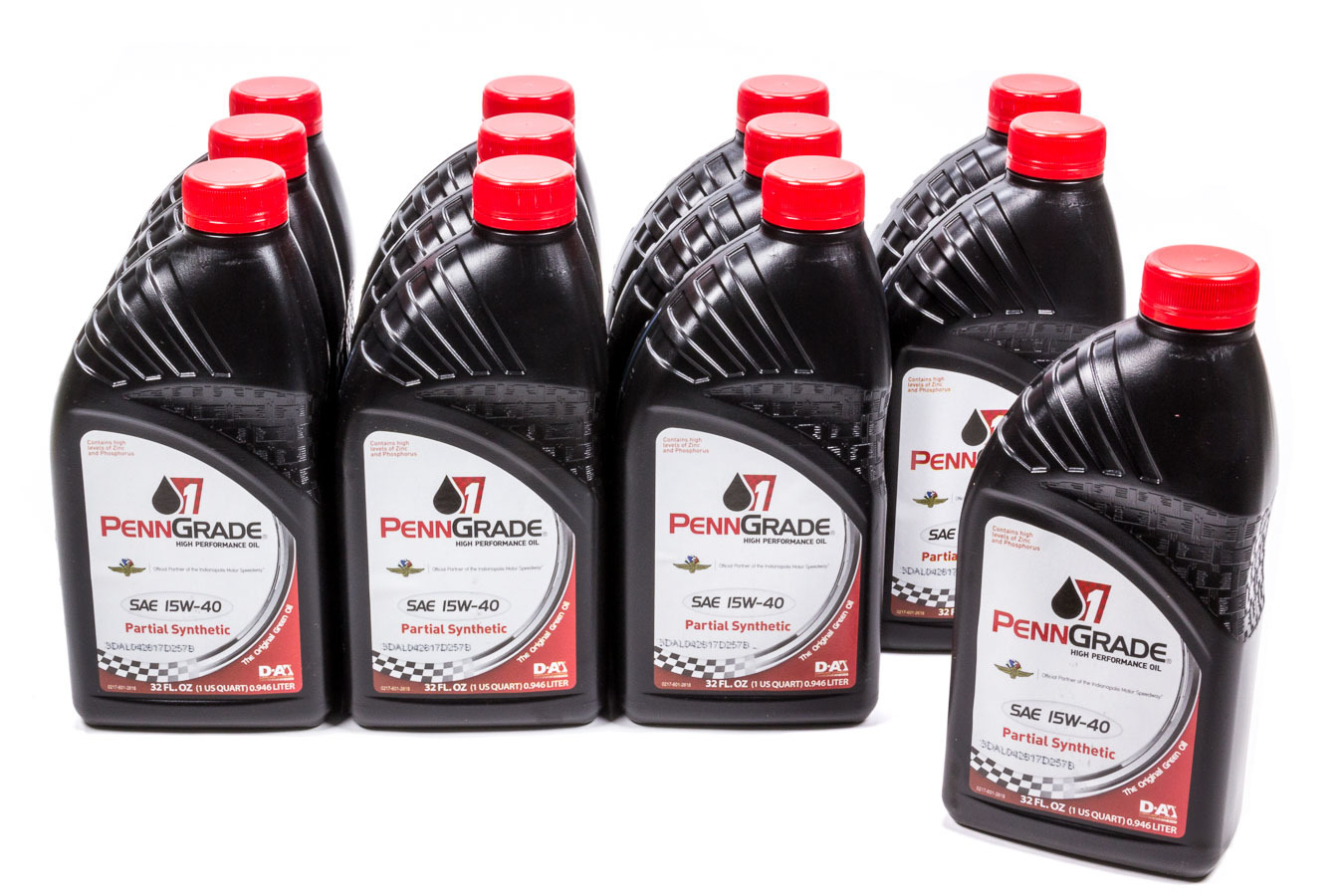 15w40 Racing Oil Cs/12Qt Partial Synthetic