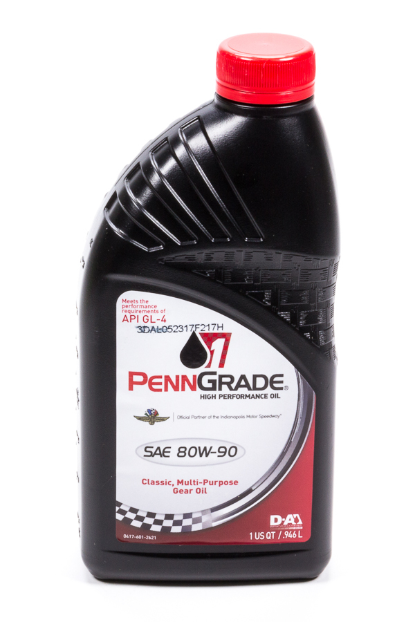 80w90 Hypoid Gear Oil 1 Qt. GL-4