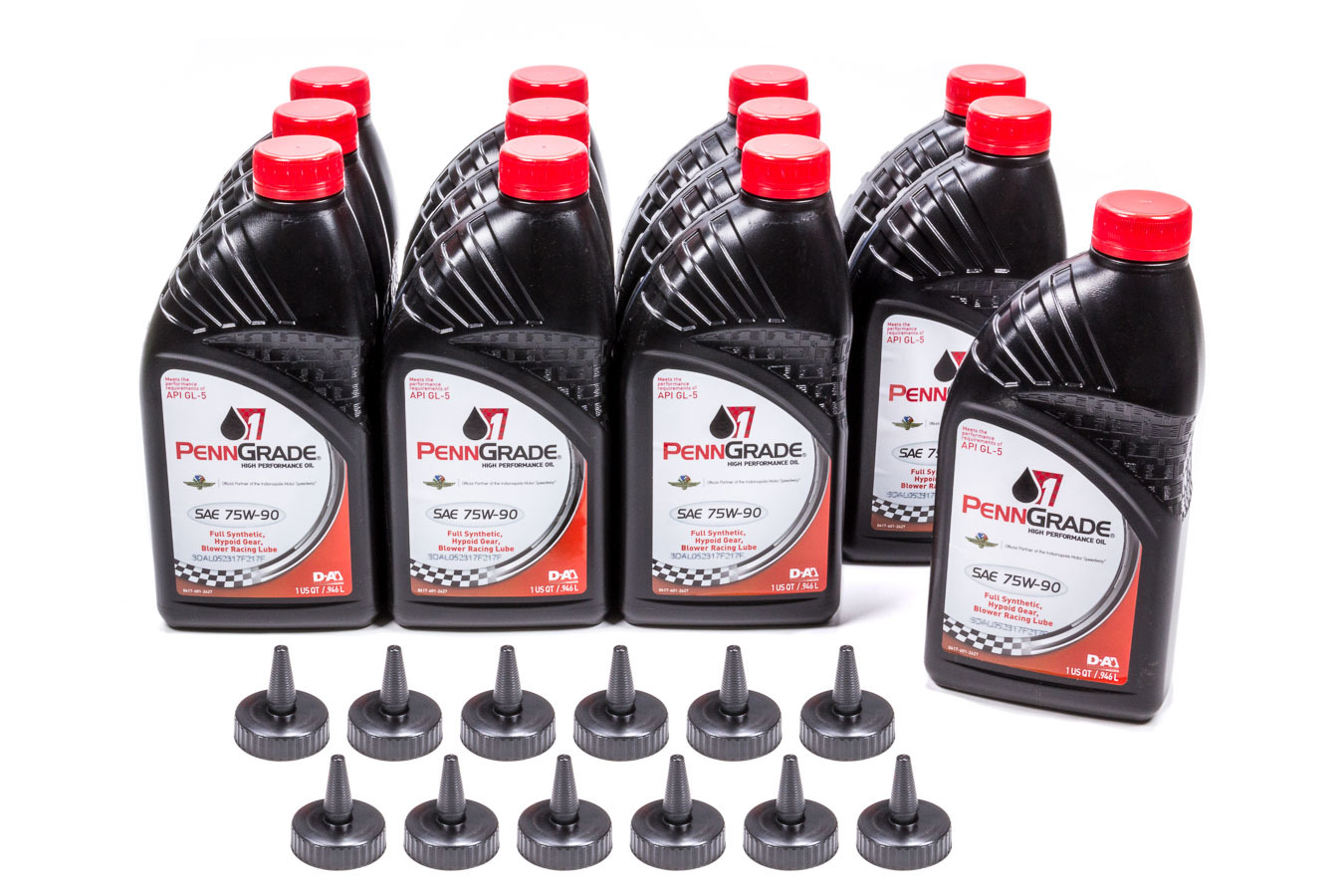 75w90 Hypoid Gear Oil Case 12 x 1 Qt.