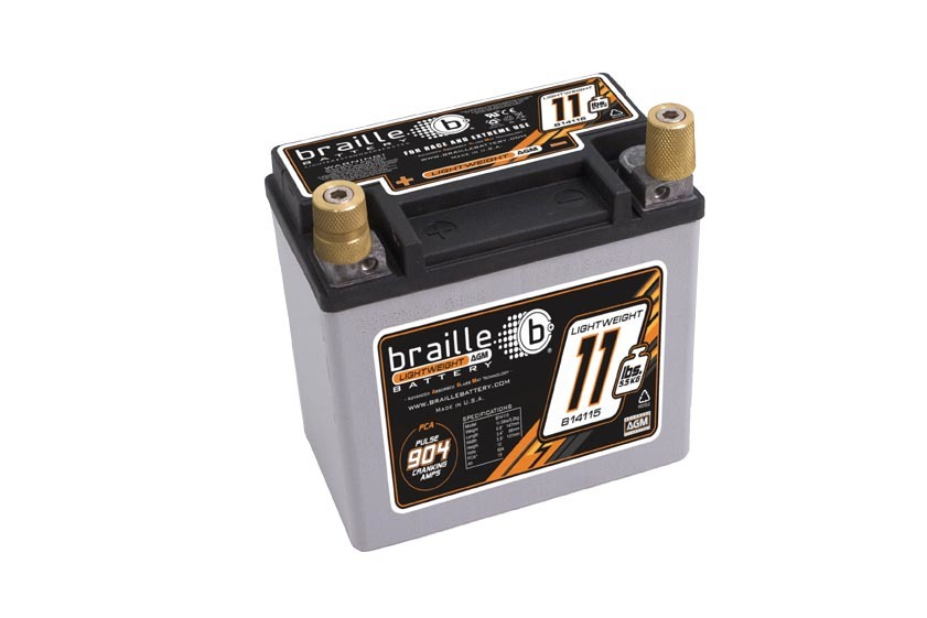 Racing Battery 11.5lbs 904 PCA 5.8x3.3x5.8
