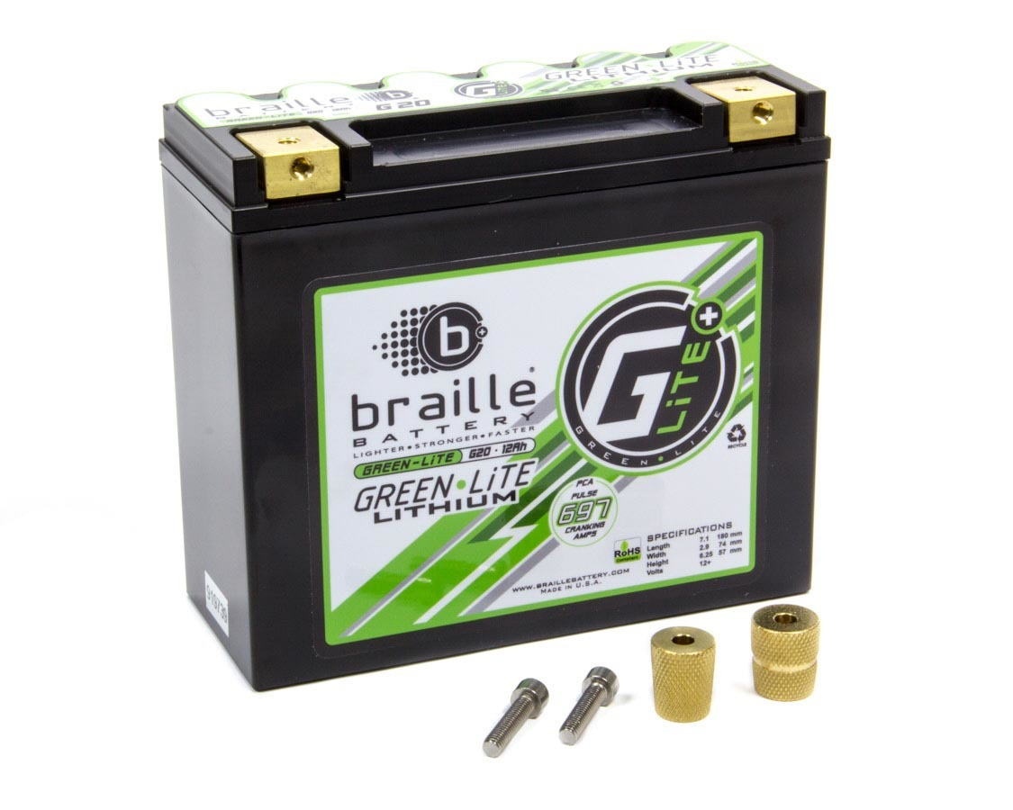 Lithium 12 Volt Battery Green Lite 697 Amps