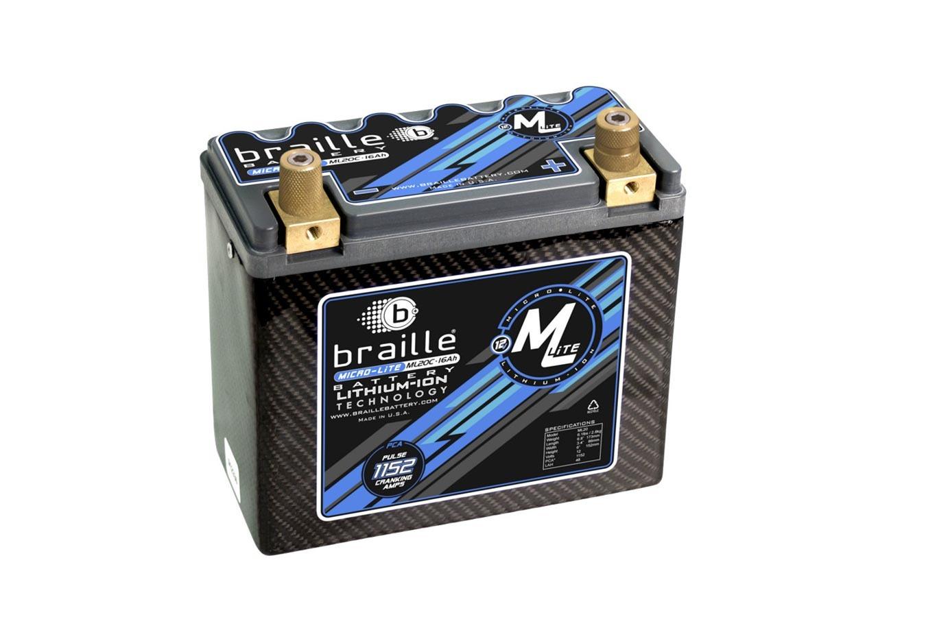 Lithium 12 Volt Battery Micro-Lite  Carbon