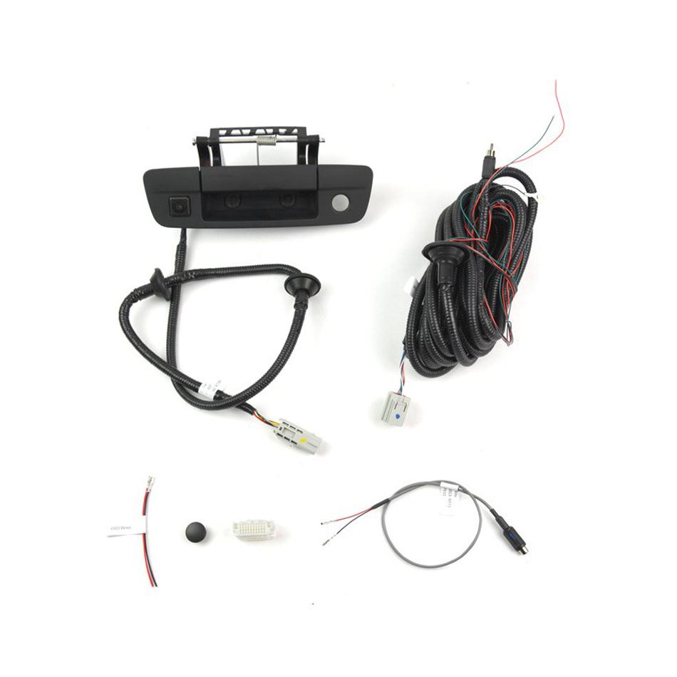 09-   Dodge Ram OEM Tail gate Handle Camera
