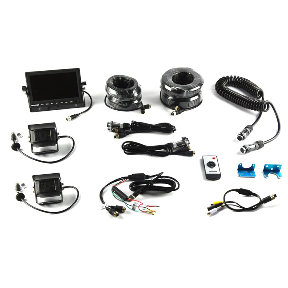 Universal Trailer Vision System w/7in Monitor