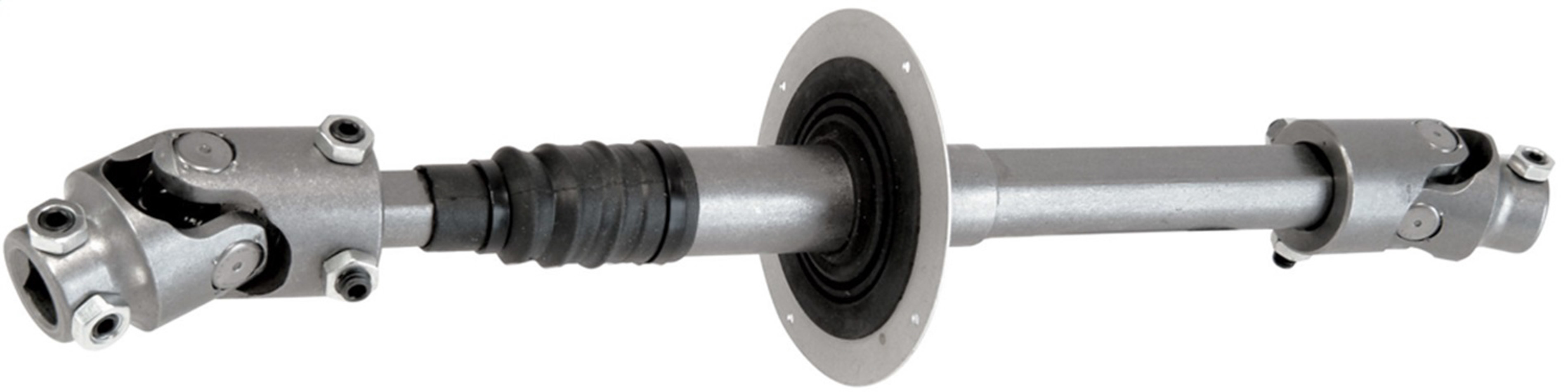 Borgeson 000873 Steering Shaft, Upper, Steel, Natural, Jeep TJ 2001-06, Each