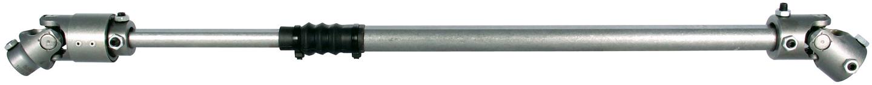Borgeson 000915 Steering Shaft, Steel, Vibration Dampener, Manual Steering, Natural, Jeep Wrangler CJ 1976-86, Each