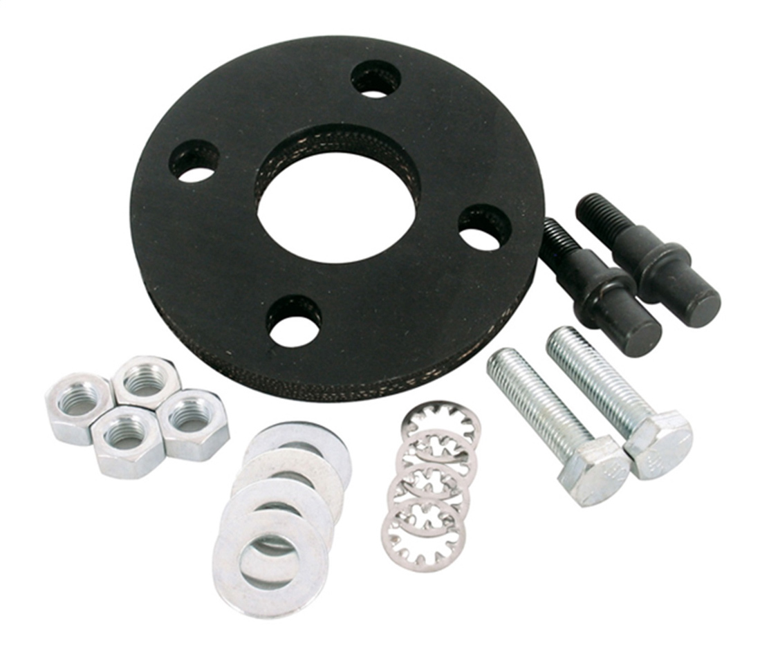 Borgeson 000941 Rag Joint Disc, Hardware Included, Black, Borgeson Rag Joints, Kit
