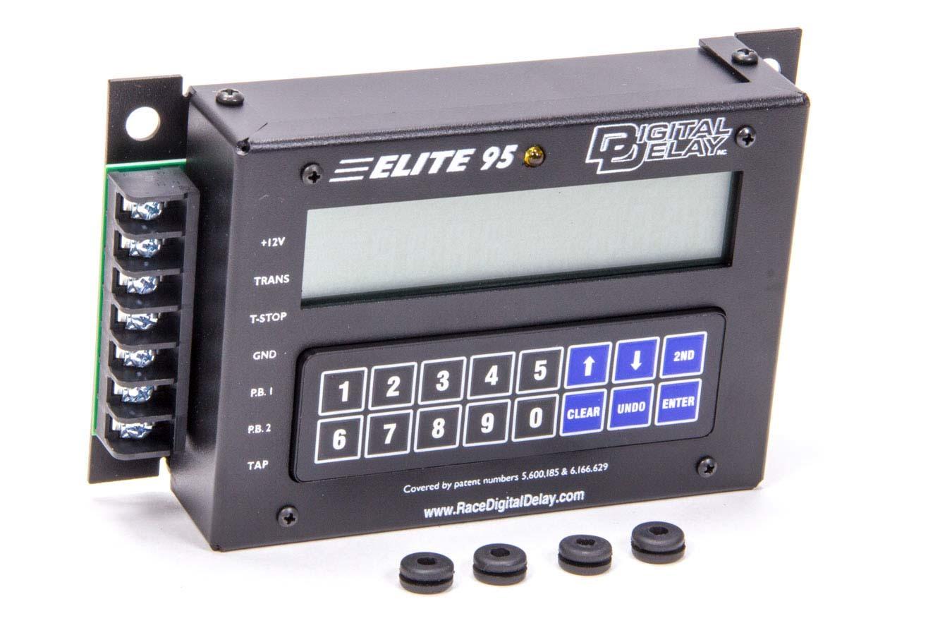 Biondo Racing Products DDI-1041-BB Delay Box, Elite 95, Digital, Blue Illuminated, Crossover Delay, Steel, Black, Each