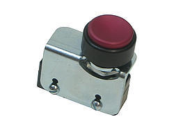 Transbrake Switch Button - Double O w/Red Button