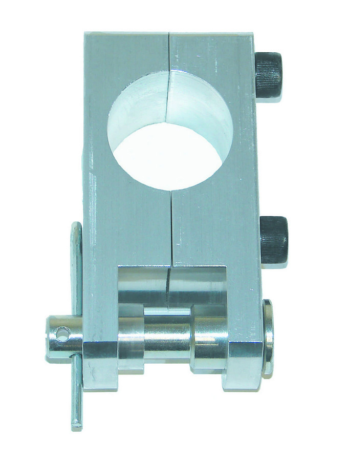 BSB Manufacturing 4062 5th Coil Mount Bracket, Clamp-On, 4 in Long, Aluminum, Natural, 1-1/2 in OD Tube, Each