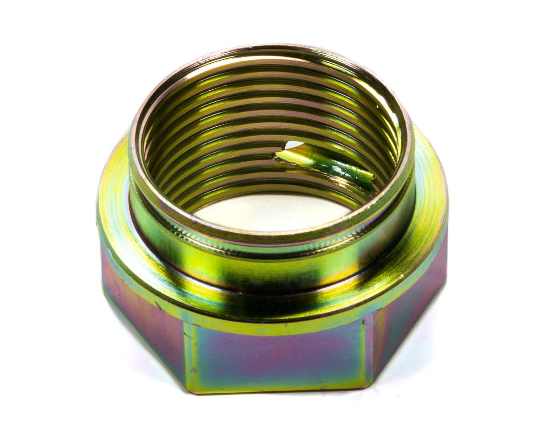 BSB Manufacturing 7540-9 Coil-Over Eliminator Nut, 1-1/2 in Adjuster Nut, Steel, Cadmium Plated, BSB XD Coil-Over Eliminators, Each