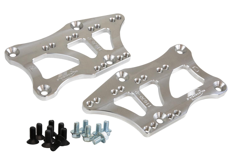 Billet Specialities 11630 Motor Mount, LS Swap, Bolt-On, Aluminum, Natural, GM LT-Series, GM A-Body / G-Body 1967-72, Kit