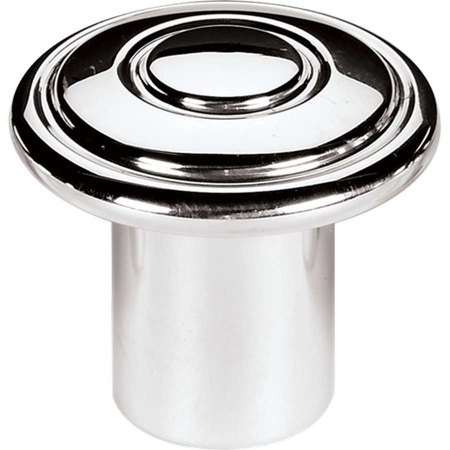 Billet Specialities 26002 Dash Knob, Classic, 3/16 in Bore, Set Screw, Billet Aluminum, Polished, Each