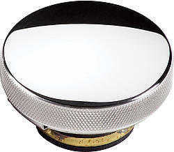 Billet Specialities 76120 Radiator Cap, 7 lb, Round, Knurled Grip, Aluminum, Smooth, Polished, Each