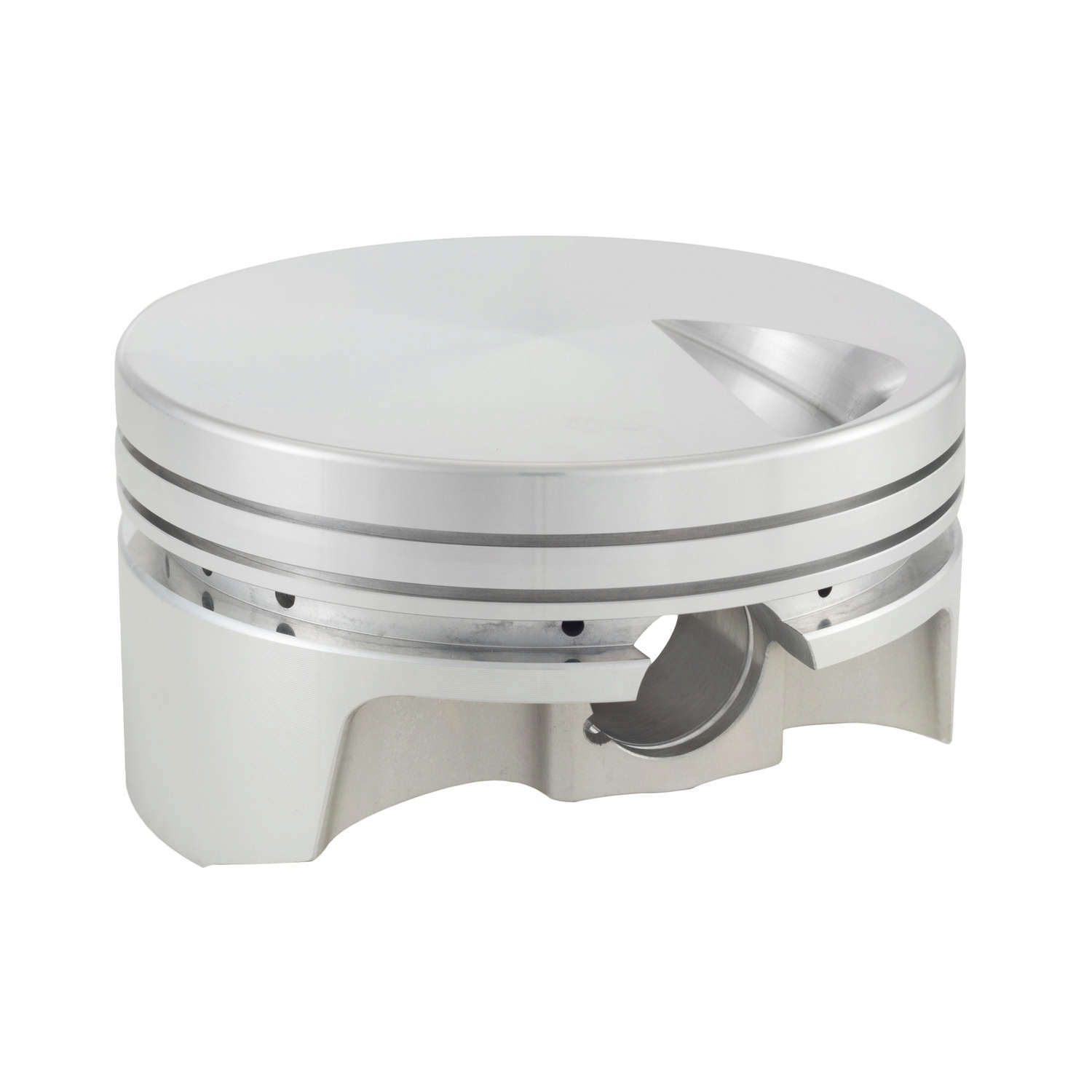 Bullet Pistons BBC5210-060-8 Piston and Ring, Forged, 4.560 in Bore, 1/16 x 1/16 x 3/16 in Ring Grooves, Minus 3.4 cc, Big Block Chevy, Kit