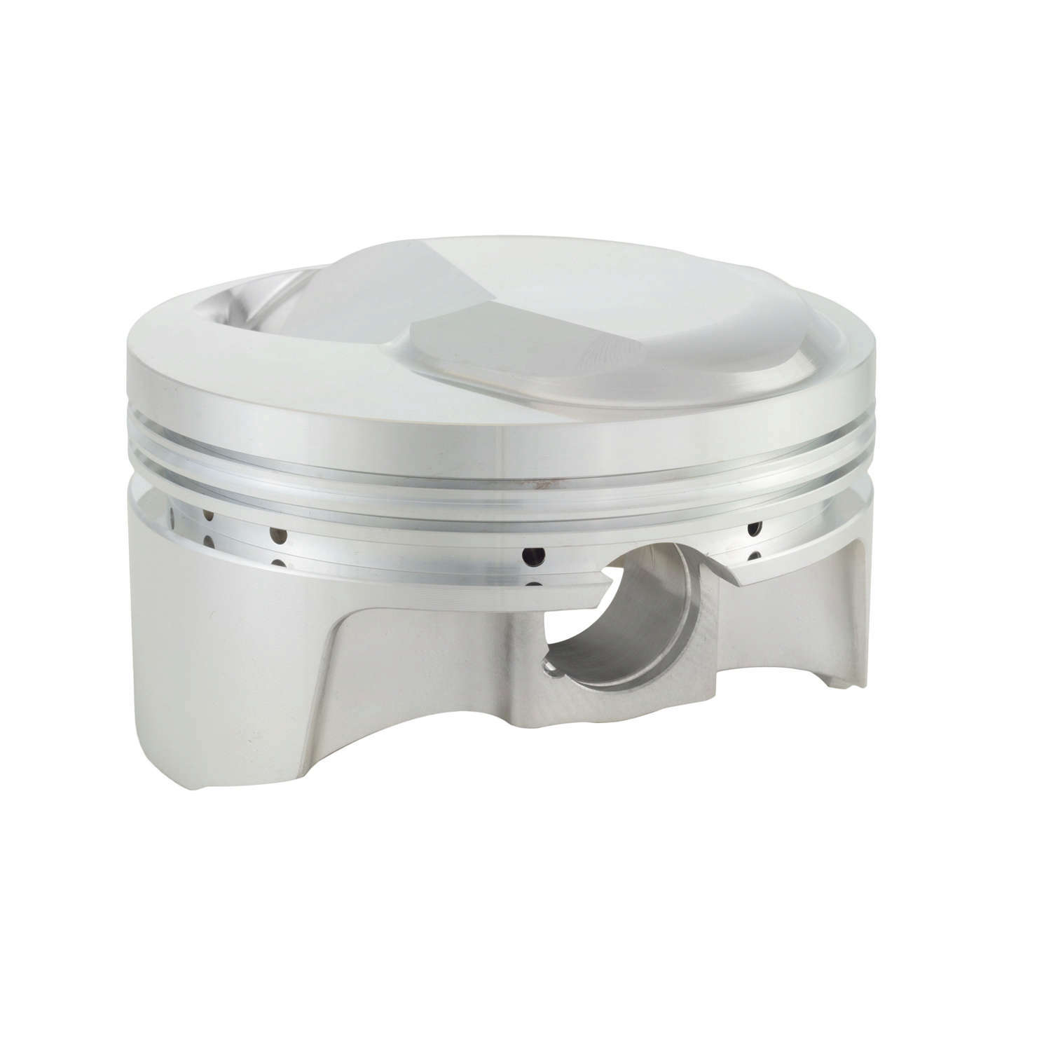 Bullet Pistons BBC5310-STD-8 Piston and Ring, Forged, 4.500 in Bore, 1/16 x 1/16 x 3/16 in Ring Grooves, Plus 24.9 cc, Big Block Chevy, Kit