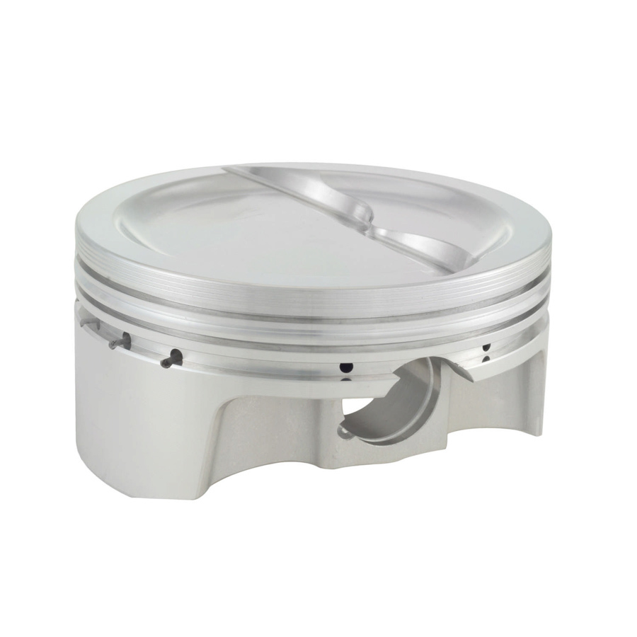 Bullet Pistons BC1120-STD-8 Piston and Ring, Forged, 4.125 in Bore, 1.5 x 1.5 x 3 mm Ring Grooves, Minus 20.5 cc, Small Block Chevy, Kit