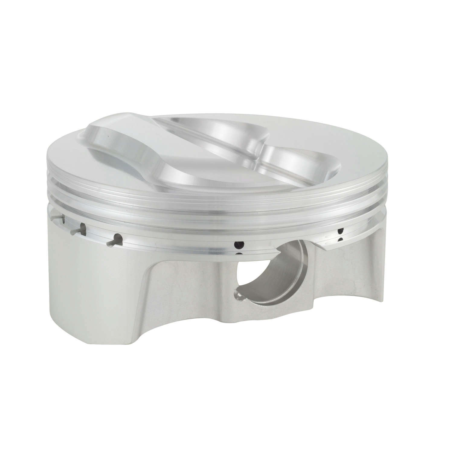 Bullet Pistons BC1200-030-8 Piston and Ring, Forged, 4.155 in Bore, 1.5 x 1.5 x 3 mm Ring Grooves, Plus 5.1 cc, Small Block Chevy, Kit