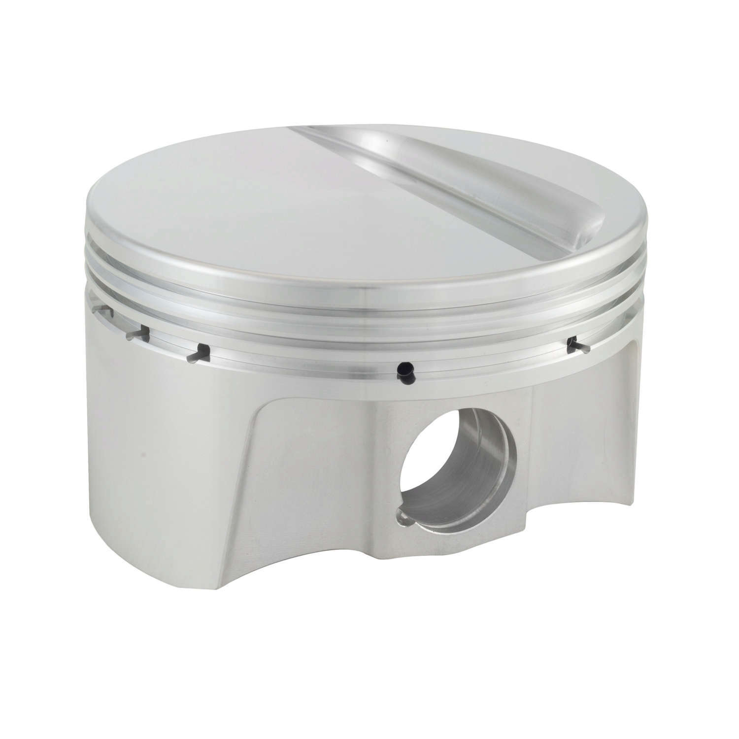Bullet Pistons BF6010-030-8 Piston and Ring, Forged, 4.030 in Bore, 1.5 x 1.5 x 3 mm Ring Grooves, Minus 8.7 cc, Small Block Ford, Kit
