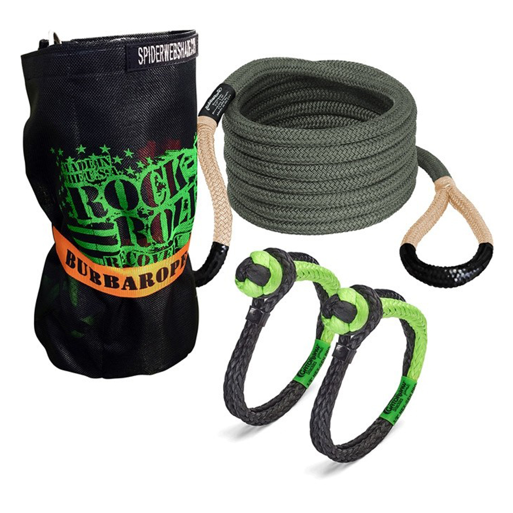 Rock-N-Roll Recovery Kit w/Bubba Rope 30ft