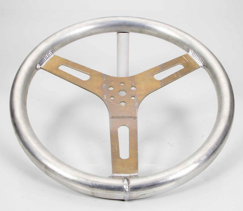 15in 1.250in Tube Flat Alum Wheel