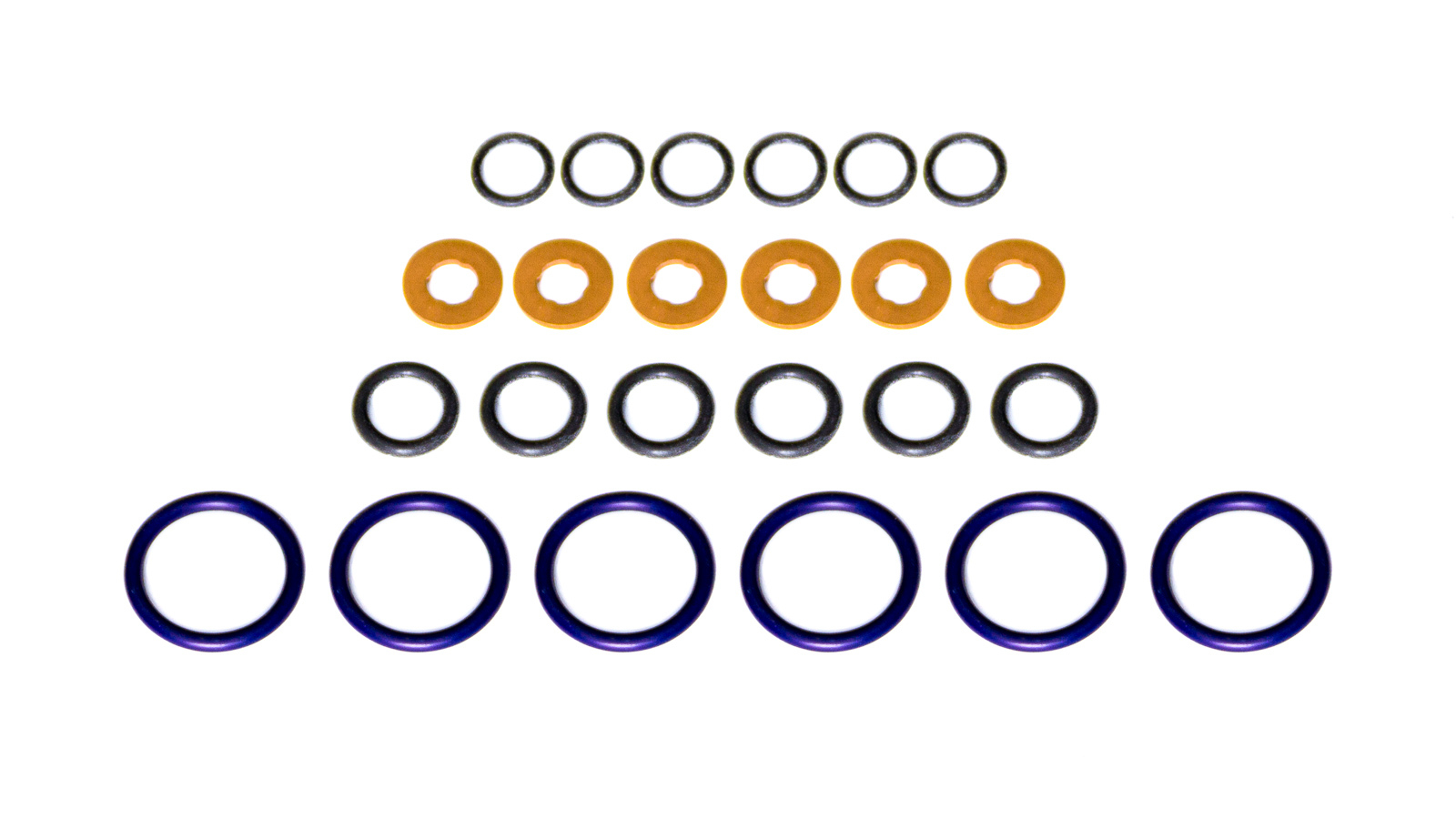 Cometic Gaskets C15072 O-Ring, Washers Included, Rubber, Dodge Cummins Fuel Injector Seal, Kit
