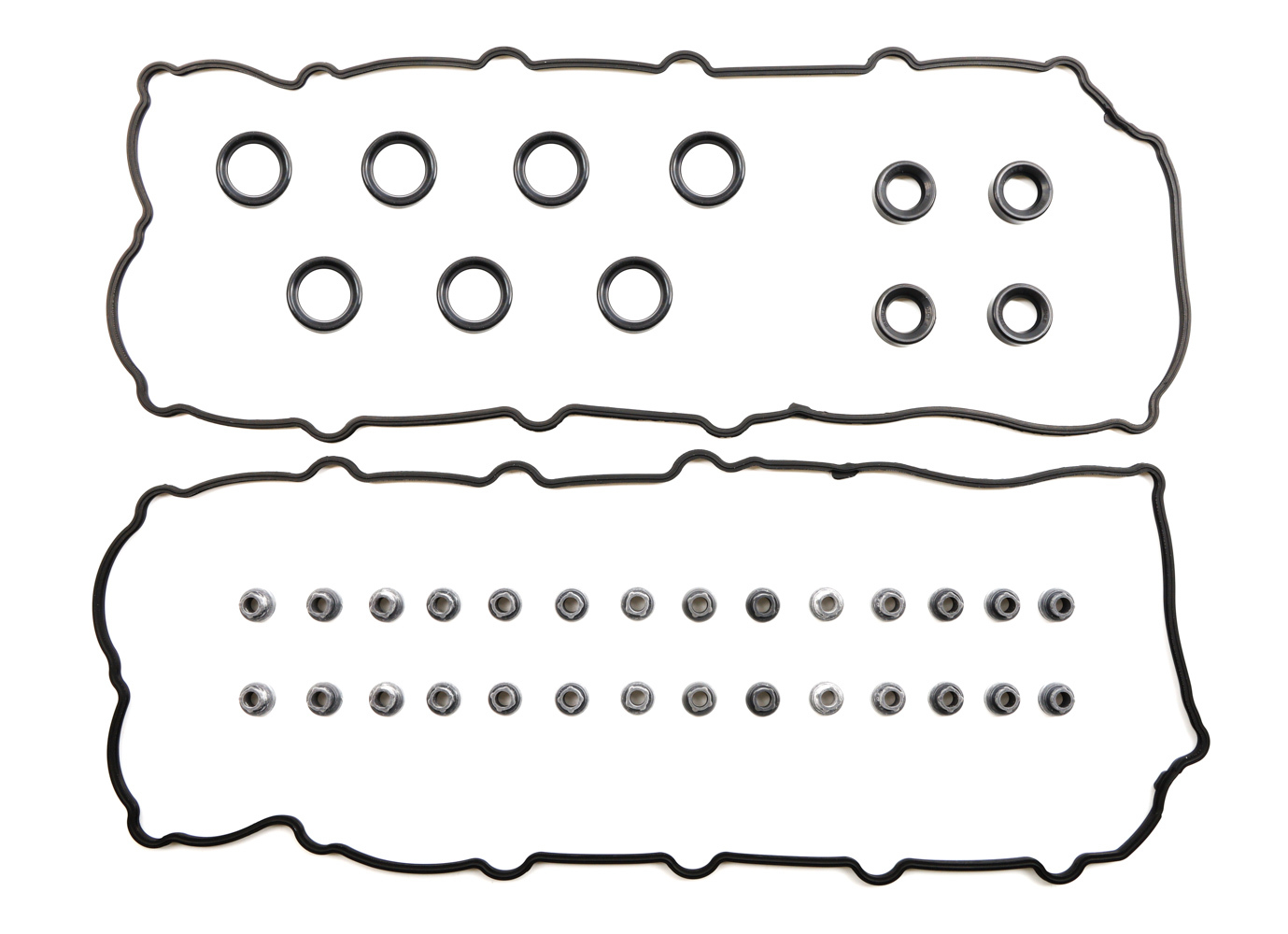 Cometic Gaskets C15576 Valve Cover Gasket, 0.188 in Thick, Rubber, Coyote, Ford Modular, Pair