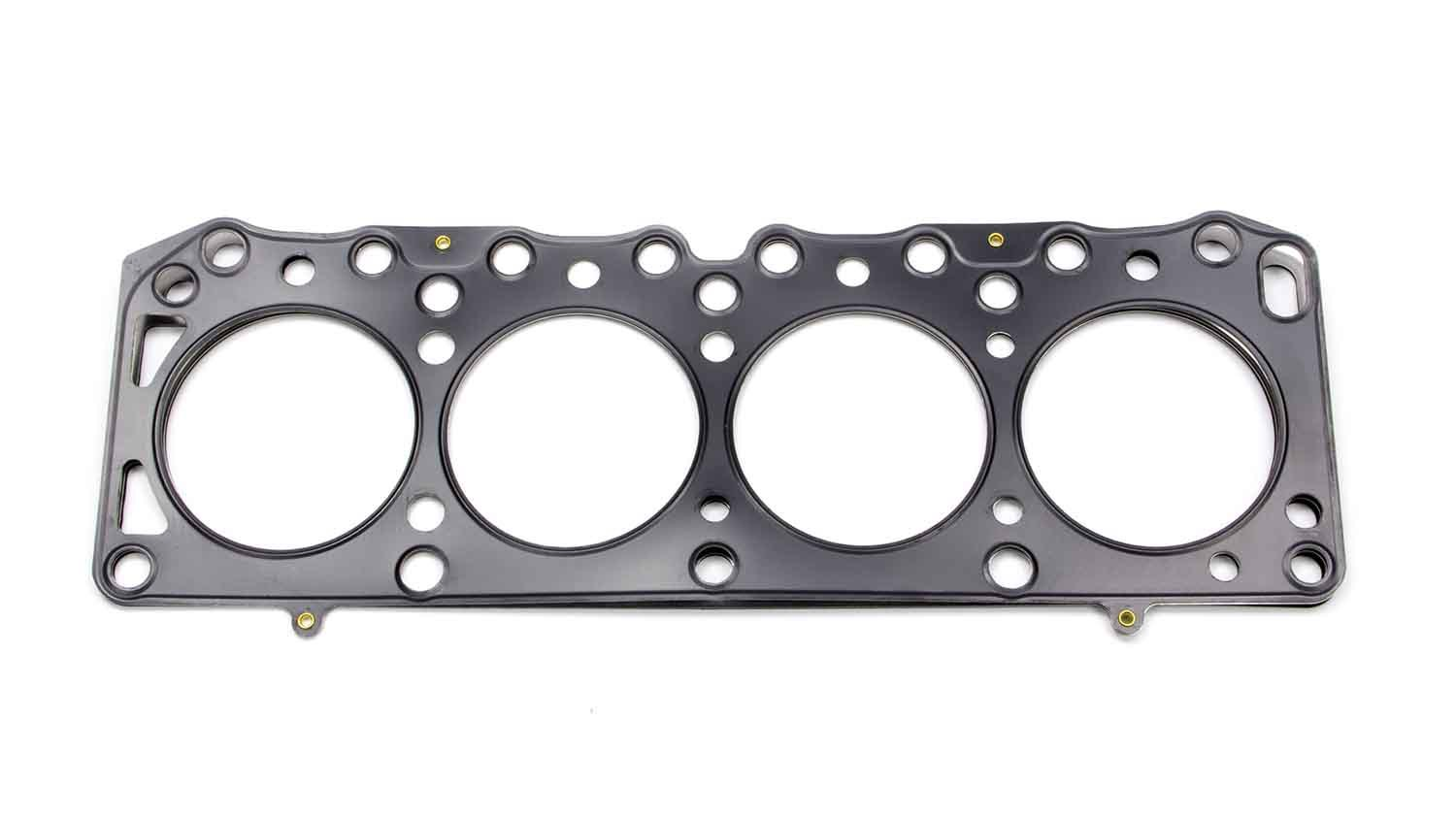 Cometic Gaskets C4140-040 Cylinder Head Gasket, 84.0 mm Bore, 0.040 in Compression Thickness, Multi-Layered Steel, Cosworth / Ford / Lotus 4-Cylinder, Each