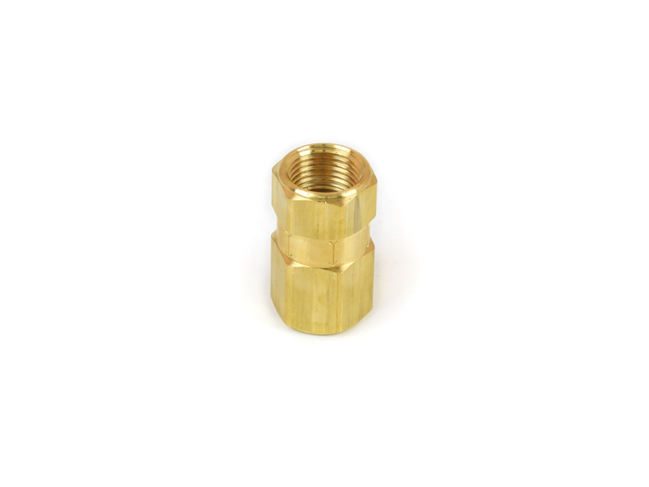 Canton 24-280 Check Valve, 1/2 in NPT Female Inlet, 1/2 in NPT Female Outlet, Brass, Natural, Accusump Oil Accumulators, Each