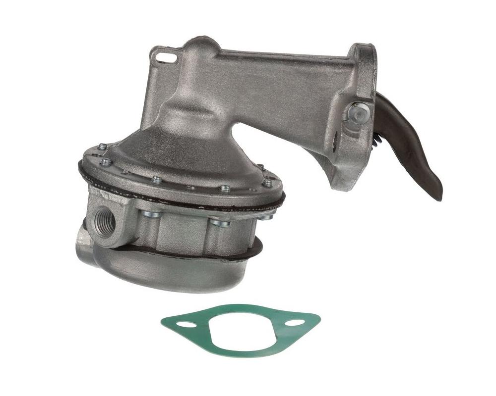 Carter M4862 Fuel Pump, Mechanical, 120 gph, 7.5-8.5 psi, 1/4 in NPSF Inlet, 1/4 in NPSF Outlet, Aluminum, Natural, Gas, Mopar B / RB-Series / Hemi, Each