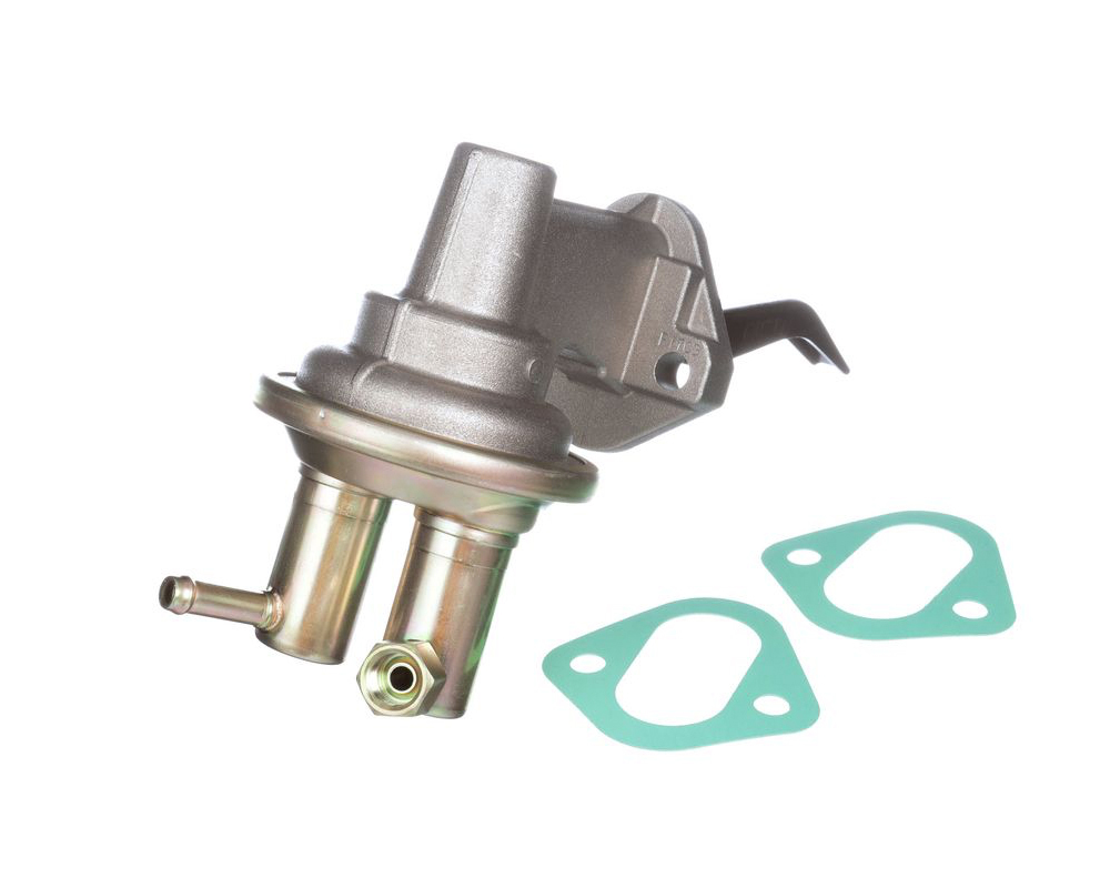 Carter M6866 Fuel Pump, Mechanical, 120 gph, 5.5-6.5 psi, 5/16 in Hose Barb Inlet, 1/2-20 in Inverted Flare Female Outlet, Aluminum, Natural, Gas, Small Block Mopar, Each