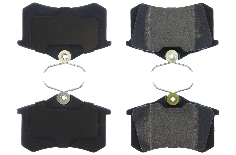 Posi-Quiet Semi-Metallic Brake Pads