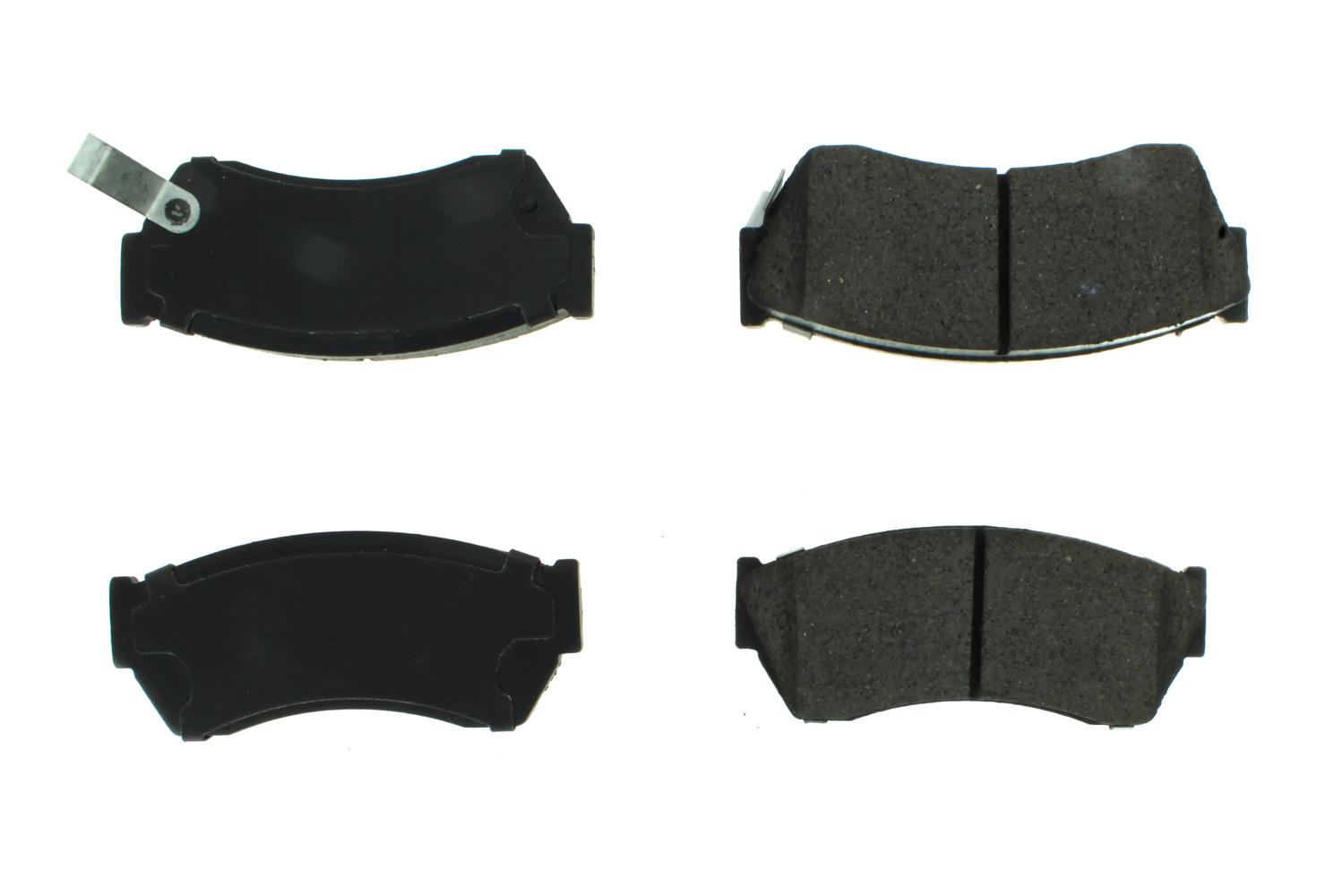 Centric Brake Parts 104.04510 Semi-Metallic Brake Pads w/Hardware