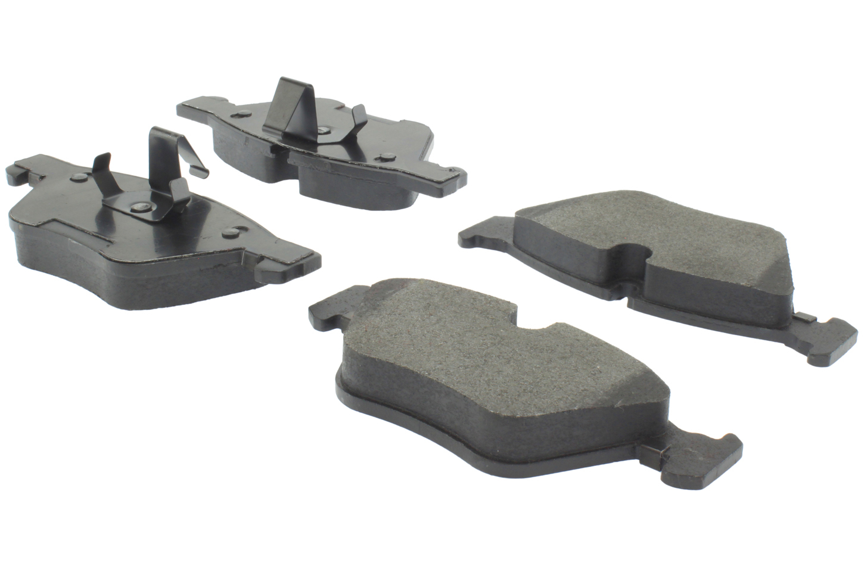 Posi-Quiet Semi-Metallic Brake Pads with Hardwar