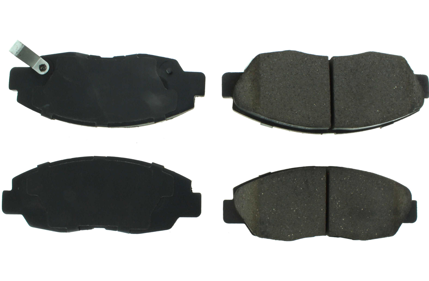 Posi-Quiet Ceramic Brake Pads with Shims and Har
